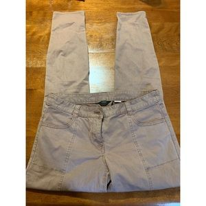 J Crew City Fit Cream Skinny Pants